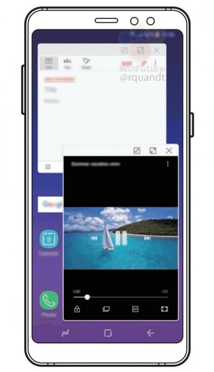 Изображения из руководства пользователя раскрыли важную особенность смартфона Samsung Galaxy A8 (2018)