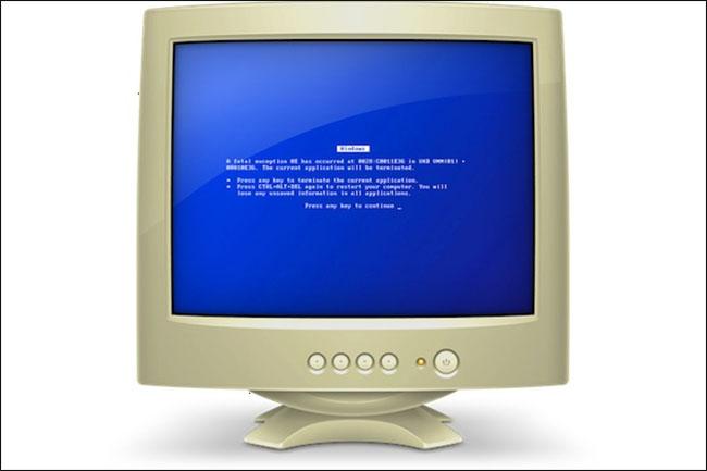 Краткая история «синего экрана смерти» - 7