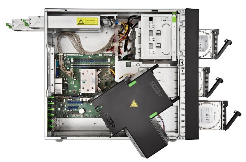 Обзор напольного сервера Fujitsu PRIMERGY TX1330 M3 - 2