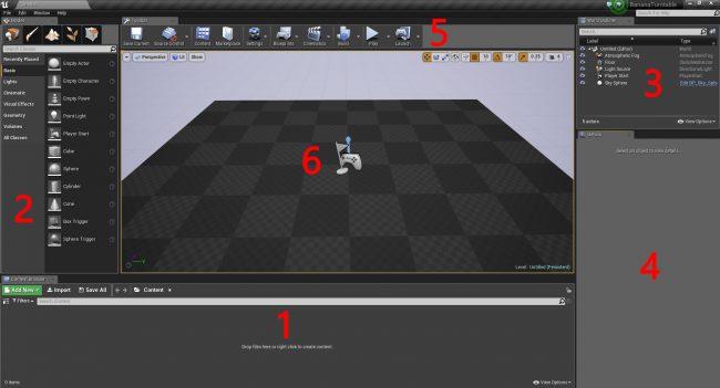 Туториал по Unreal Engine. Часть 1: знакомство с движком - 12