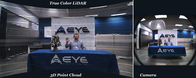 В состав iDAR входит лидар, высокочувствительная камера и встроенное ПО