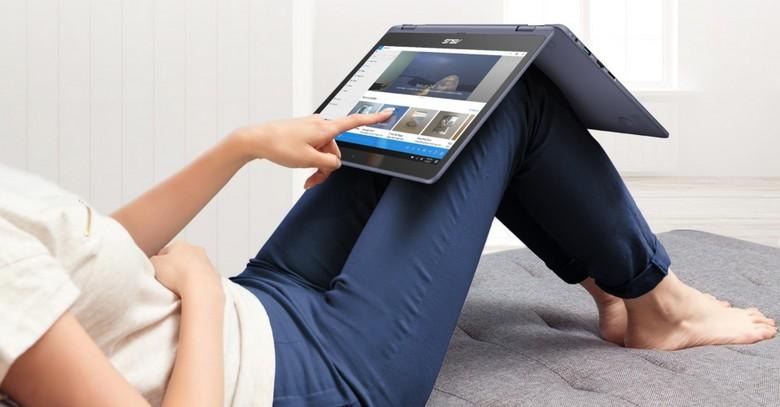 Ноутбук Asus Laptop TP202NA оценивается в 300 долларов