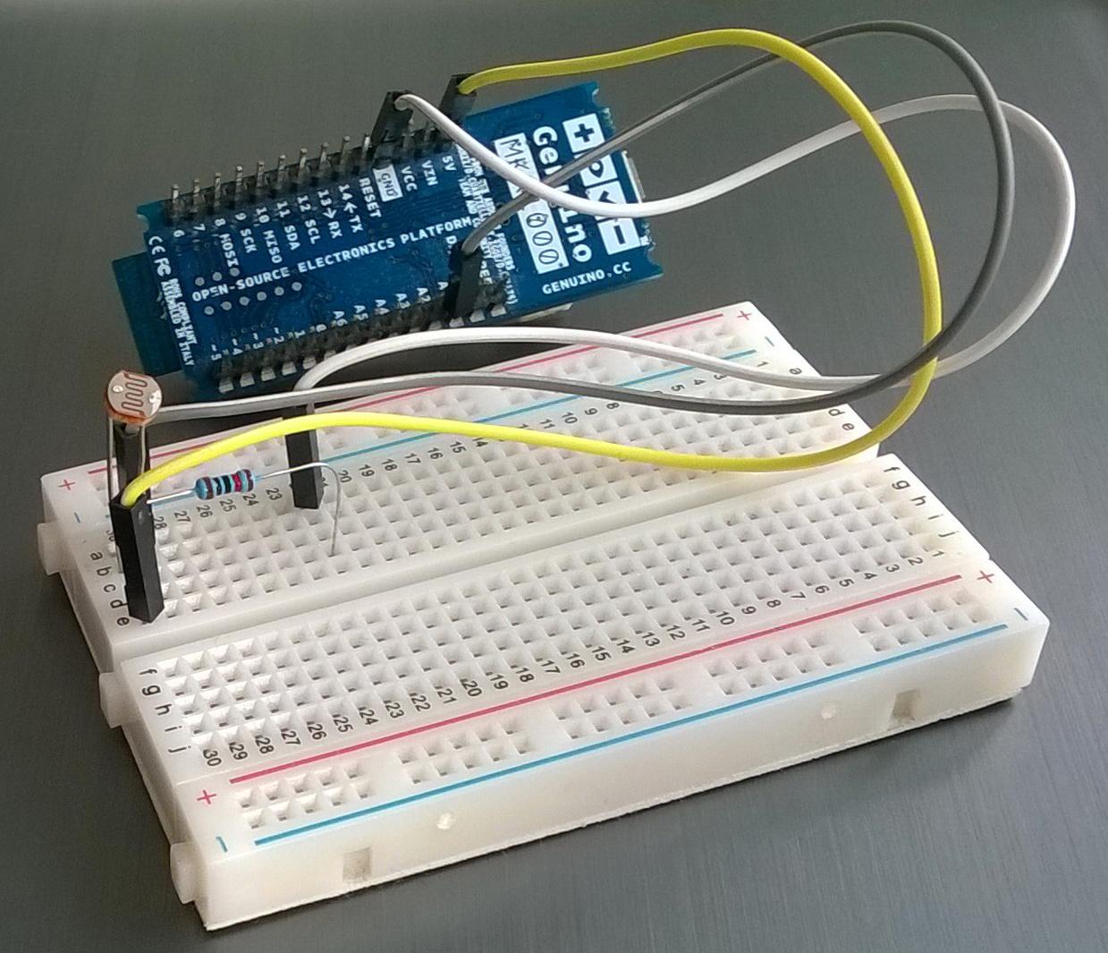 Интернет вещей: Arduino в связке с облаком - 2