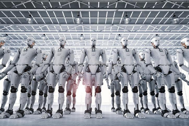 Итальянская забастовка роботов - 1