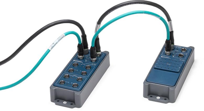 Приборы NI FieldDAQ позволяют организовать тестирование оборудования в самых суровых условиях