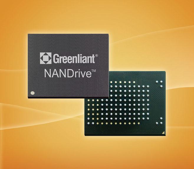 Накопители Greenliant NANDrive GLS85VM соответствуют спецификации e.MMC 5.1
