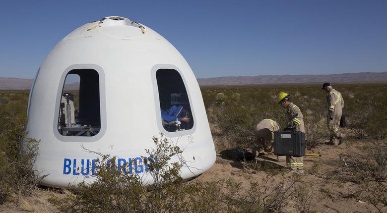 Blue Origin в очередной раз успешно запустила New Shepard