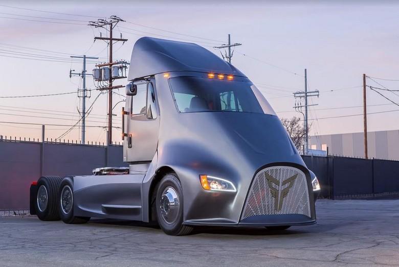 Электрический грузовик Thor Trucks ET-One не поражает запасом хода