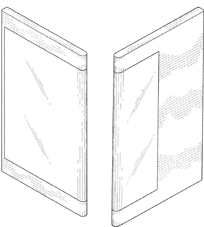 Экран обернут вокруг одной из боковых граней
