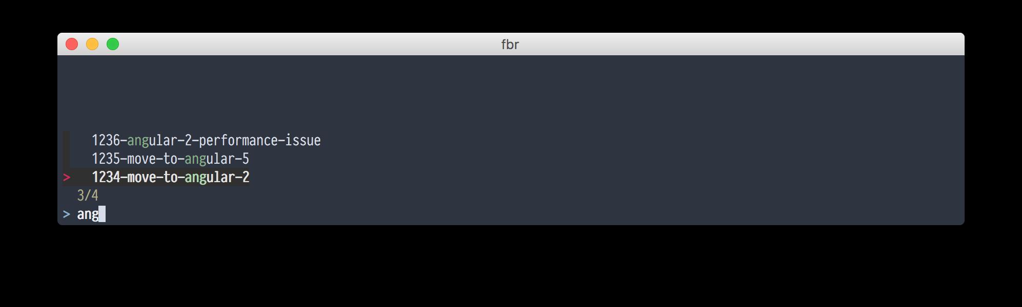 FZF. Нечеткий поиск или как быстро ставить npm пакеты и убивать процессы - 1
