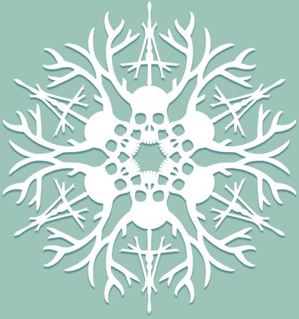 Снежинки в стилистике… своими руками (upd. 2017) - 21