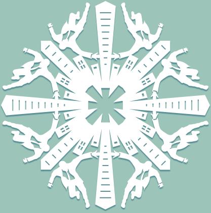 Снежинки в стилистике… своими руками (upd. 2017) - 26