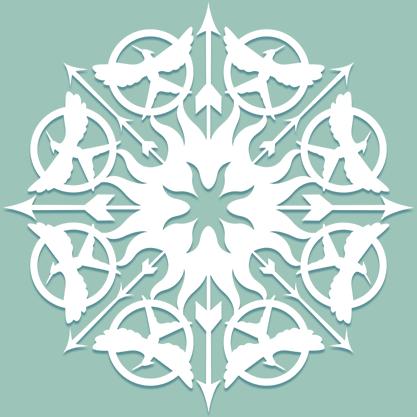 Снежинки в стилистике… своими руками (upd. 2017) - 31