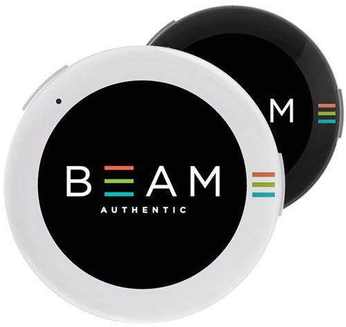 Значок BEAM можно носить на одежде, головном уборе, сумке