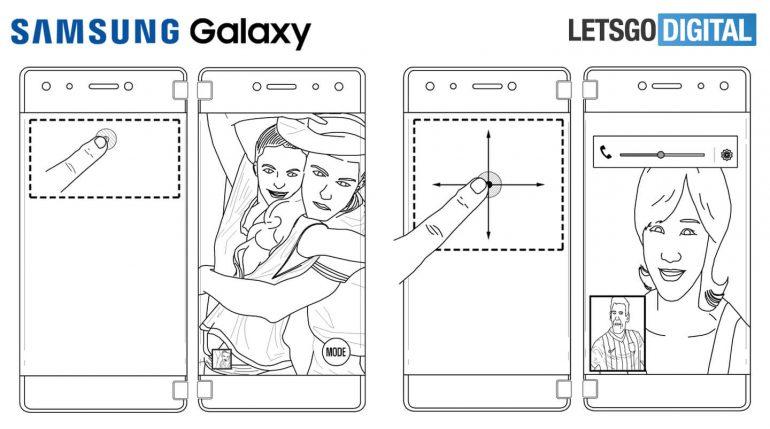 Samsung запатентовала еще один сгибающийся смартфон