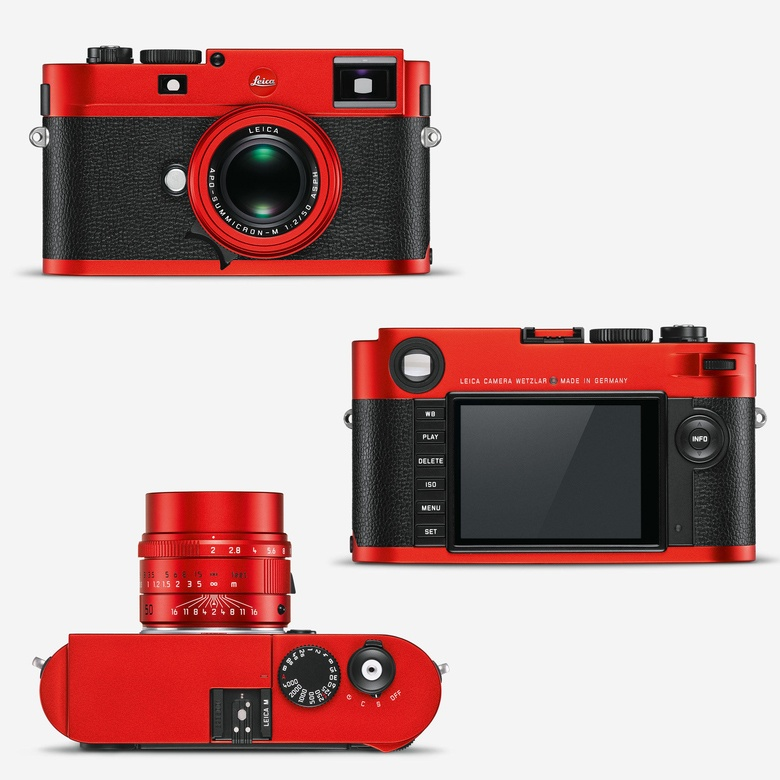 Цифровая дальномерная камера Leica M (Typ 262) выпускается с ноября 2015 года