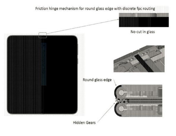 Новый патент Microsoft описывает складывающийся планшет