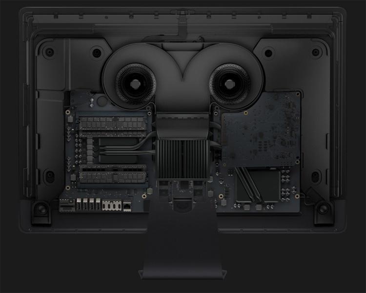 Оперативную память в iMac Pro заменить можно, но только в сервисном центре