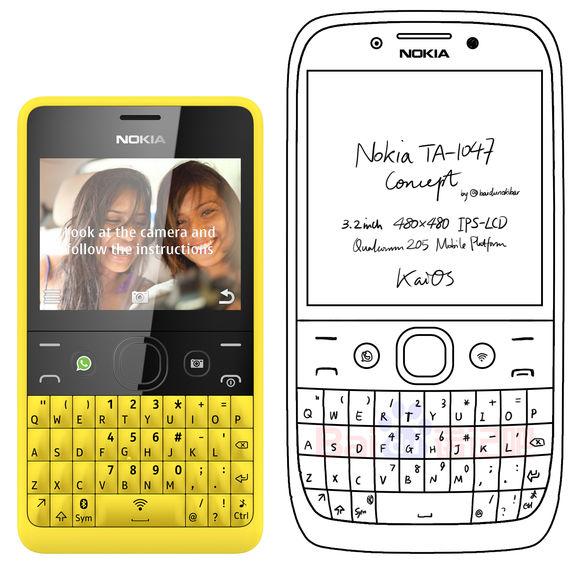 Так может выглядеть Nokia TA-1047
