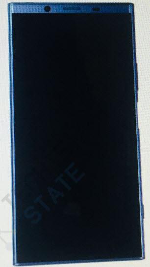 Опубликованы изображения безрамочного смартфона Sony Xperia XZ2