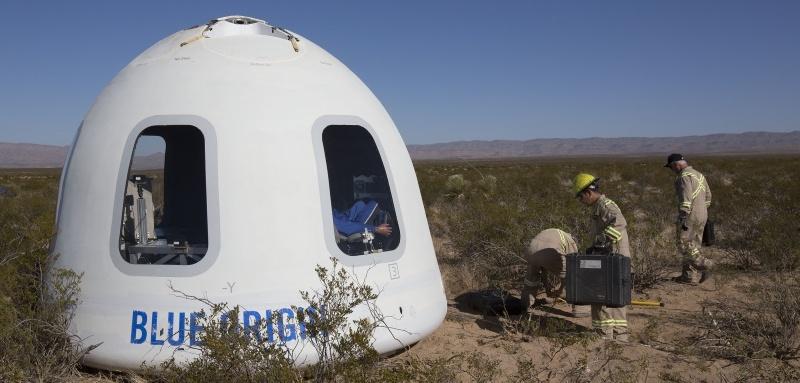 Полет на New Shepard от первого лица - 1
