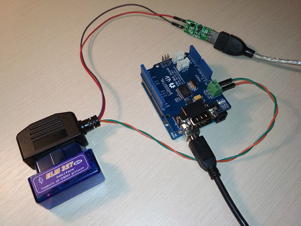Разъем диагностики OBD-II, как интерфейс для IoT - 12