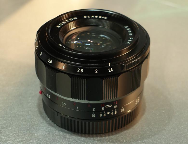 Объектив Voigtlander Nokton Classic 35mm f/1.4 FE будет предназначен для камер с креплением Sony E