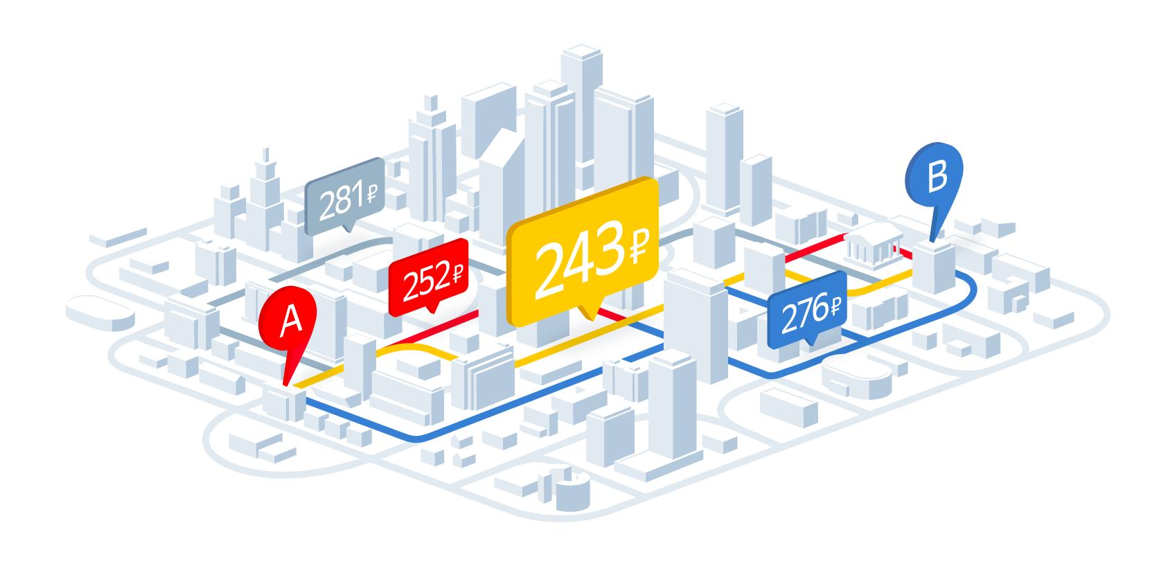 Время — деньги. Как мы учили Яндекс.Такси точно рассчитывать стоимость поездки - 1
