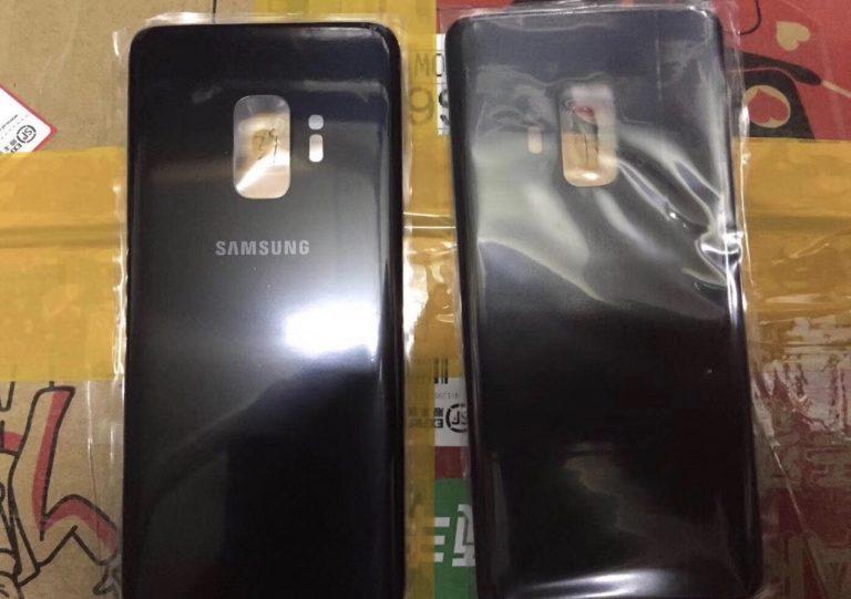 Опубликована первая фотография задней панели смартфона Samsung Galaxy S9