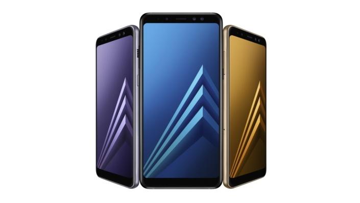 Представлены смартфоны Samsung Galaxy A8 (2018) и Galaxy A8+ (2018)