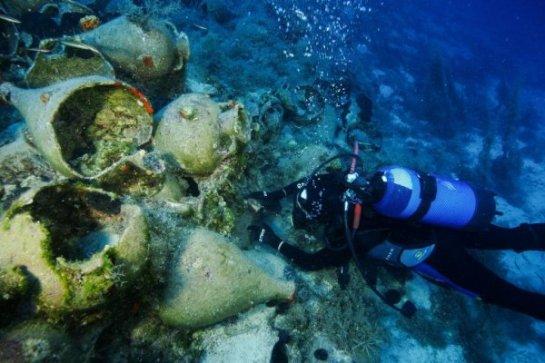 У побережья греческого острова нашли восемь затонувших кораблей