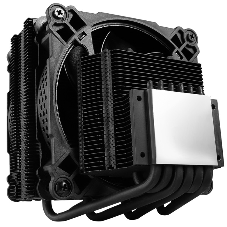 Процессорный охладитель Jonsbo CR-301 RGB подойдет для процессора с TDP до 135 Вт