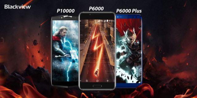 Blackview готовит три долгоиграющих смартфона: P6000, P6000 Plus и P10000