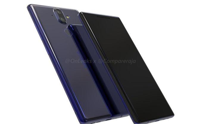 Фронтальная камера смартфона Nokia 9 будет сдвоенной