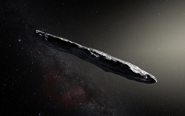 «Корабль инопланетян» из другой звездной системы оказался покрытым органикой ледяным булыжником - 1