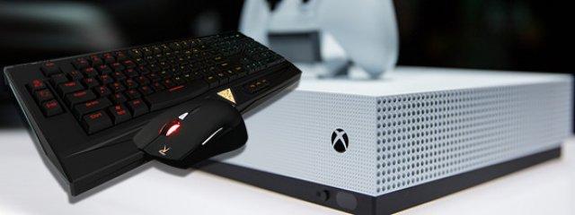 Поддержка клавиатуры и мыши будет добавлена в Xbox One в начале 2018