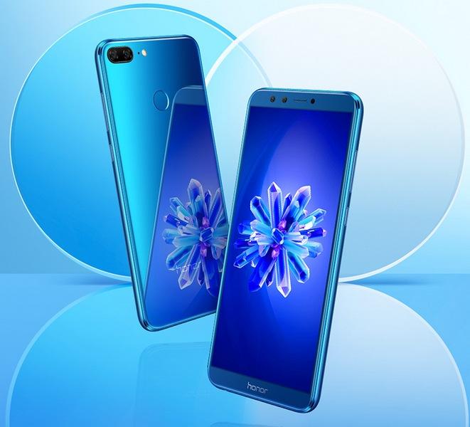 Представлен смартфон Honor 9 Lite