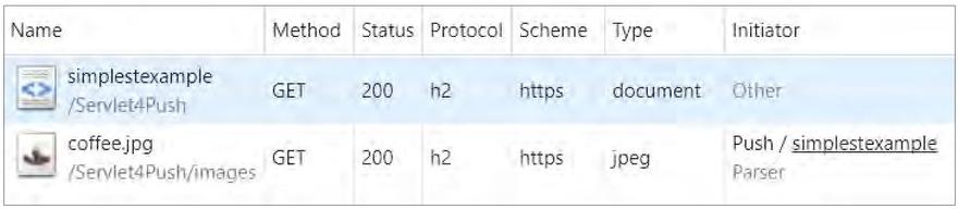 Servlet 4.0: Делаем больше быстрее. Server Push - 2