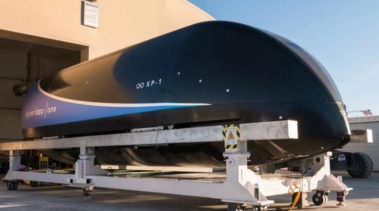 Virgin Hyperloop One провела испытания капсулы в форваккуме