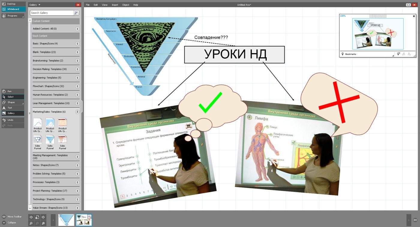 Интерактивному проектору – интерактивный софт! Часть вторая – мультитач и ПО для обучения - 12