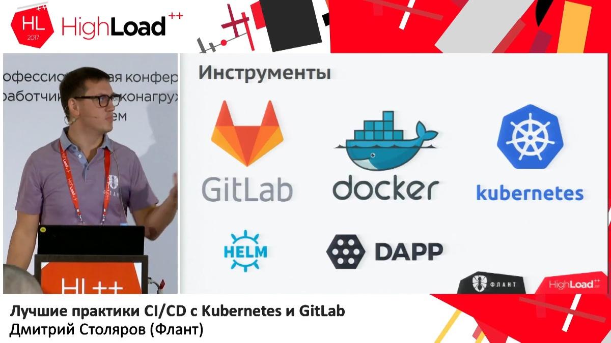 Лучшие практики CI-CD с Kubernetes и GitLab (обзор и видео доклада) - 1