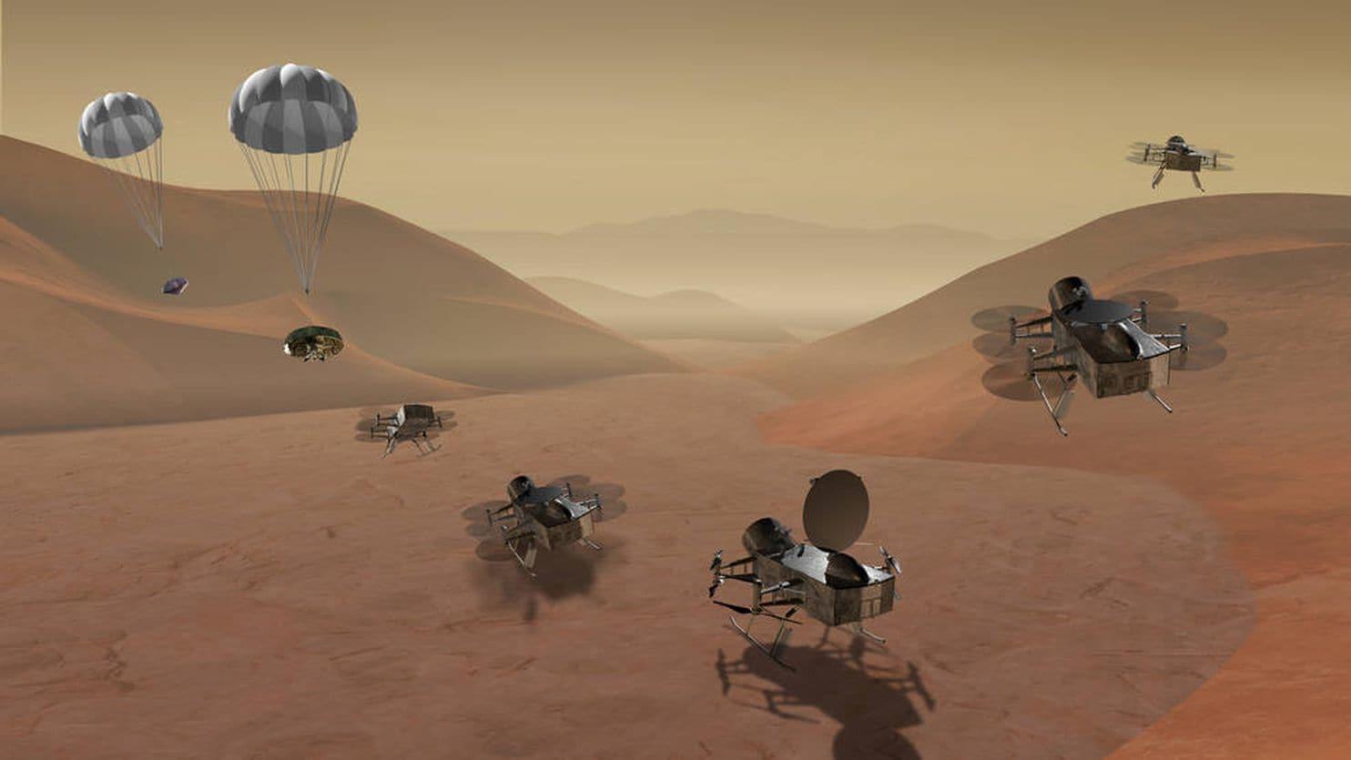 НАСА разрабатывает проект «стрекозы» для обследования Титана - 1