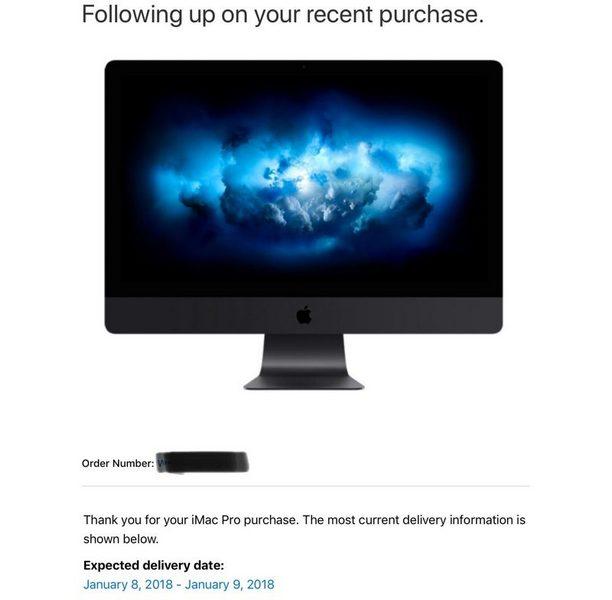 Apple уменьшила сроки ожидания топовых версий iMac Pro