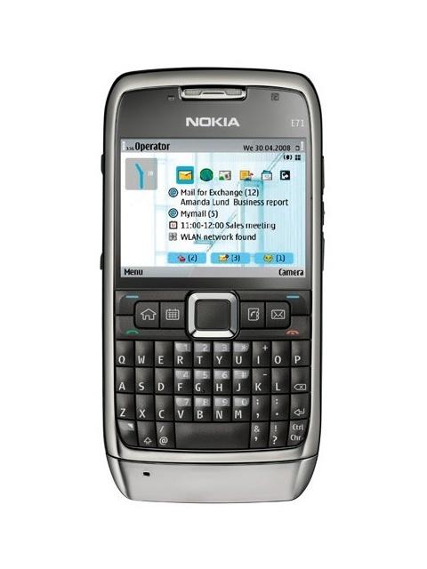 Обновленный телефон Nokia E71 (2018) с клавиатурой QWERTY может получить SoC Snapdragon 205