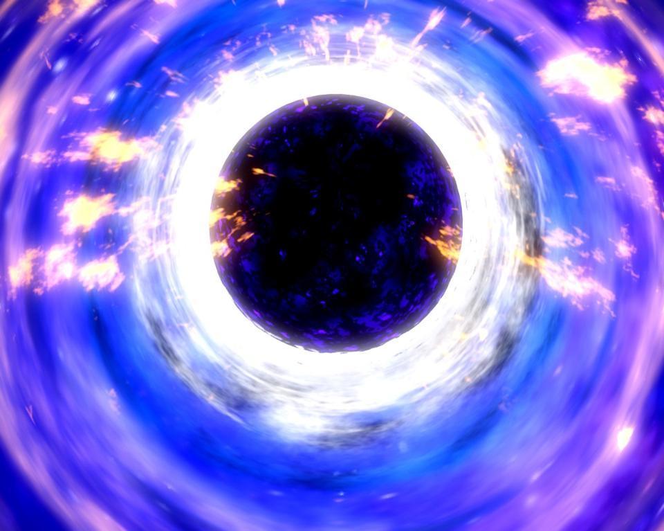 Спросите Итана: что происходит с сингулярностью при испарении чёрной дыры? - 9
