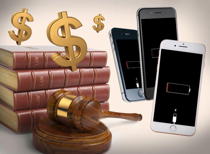 Apple получила первые иски касательно функции замедления смартфонов