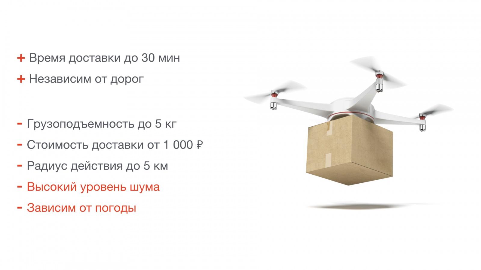 Робот-курьер — доставка за 30 минут, или как в России построить будущее - 3