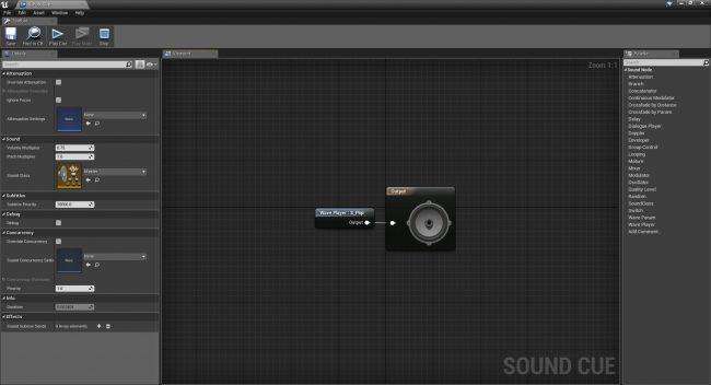 Туториал по Unreal Engine. Часть 7: звук - 21