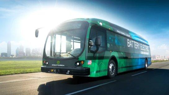 LA введет в эксплуатацию 25 автобусов Proterra в 2019 году