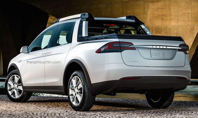 Пикап Tesla выйдет после модели Model Y